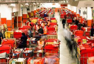 Royal Mail Sorting Room