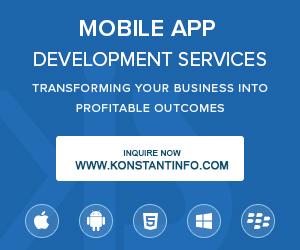 Mobile App Development Services by Konstantinfo