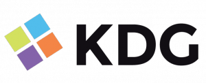 KDG logo for higher ed web design team