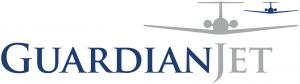 Guardian Jet LLC Logo with two vector airplane images