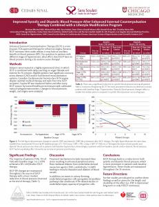 "ALT=""Global Cardio Care, Cedars-Sinai Heart Institute EECP Research Poster"""