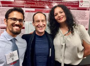 "ALT=""Murtaza Bharmal, MD, Ronald Victor, MD of Cedars-Sinai Heart Institute, and CEO Sara Soulati, Global Cardio Care, Inc."""