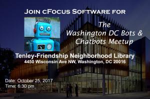 Inaugural Washington DC Bots & Chatbots Meetup