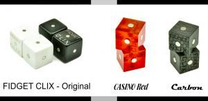 FIDGET CLIX lineup, Original, Casino and Carbon