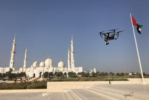 abu dhabi drone filming