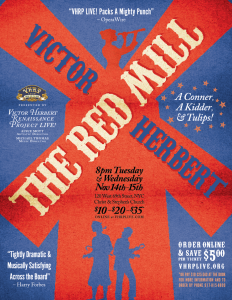 The Red Mill by Victor Herbert presented by VHRP LIVE!