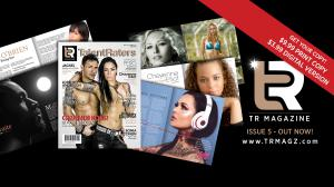 This Banner Displays TR MAGAZINE Issue 5 and our Prices!