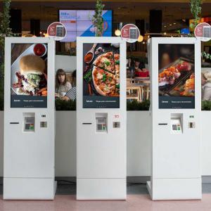 Self-service digital kiosks