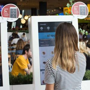 Self-service digital kiosks - Restaurants