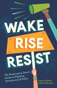 Book cover for Wake, Rise, Resist