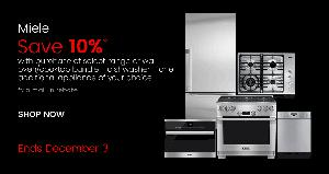 Save 10% on a Miele Kitchen Package at the Appliances Connection Cyber Monday Sale