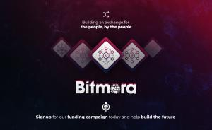 Banner announcing the Bitmora Funding Campaign