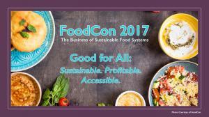 Photo Courtesy of FoodCon 2017