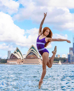 "Ashleigh Ross, star of TV's ""Dance Academy"""