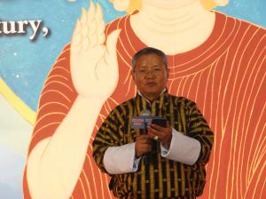 不丹前總理肯贊多傑任大佛奉筆貴賓