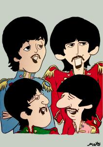 Beatles. Sgt. Pepper by Matt Smith.