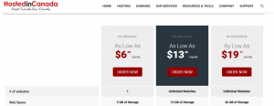 Cheap WordPress hosting Canada