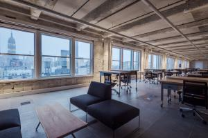 Open Office Concept with Ancillary Furniture