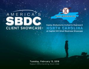 America's SBDC Client Showcase, Februrary 13, 2018