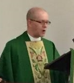The Rev. Jay Lawlor at St. Paul's Episcopal Church, Richmond, IN