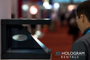 3d Hologram Rentals at McCormick Convention Center Chicago