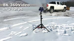 8K 360 Video at 240 Frames Per Second