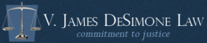 V. James DeSimone Law Logo
