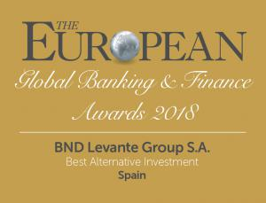 BND awarded by the magazine The European