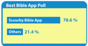 Scourby You Bible App Ranked No 1 by 700 Club News