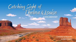 Catching Sight of Thelma and Louise Key Art