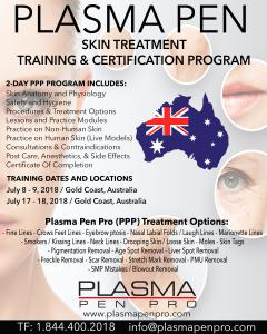 Plasma Pen Pro Training and Certification Program in Gold Coast, Australia