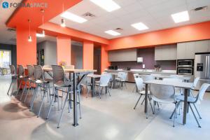 Custom break room furniture
