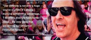 T-Mobile Celebrates Diversity