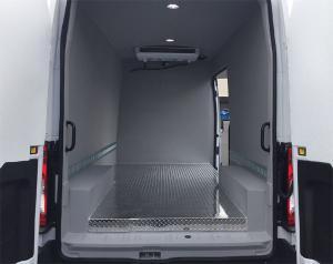 Refrigerated Van Interior
