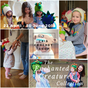 Cris Crochet Shop's Enchanted Creatures Collection