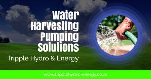 Water Harvesting & Pumping Solutions