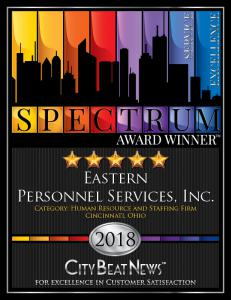 Eastern Personnel 2018 Spectrum Award Winner