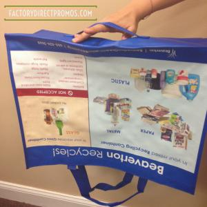 Reusable Recycling Bags from Factory Direct Promos