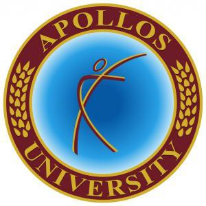 The Logo of Apollos University
