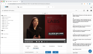 axle ai 2020 includes AI-driven speech transcription and remote browser access