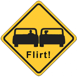 Flirting in Traffic