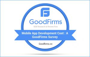 GoodFirms Survey: Mobile App Development Cost