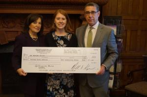 2017 Traumatic Brain Injury Scholarship Winner Courtney Bruun-Andersen.