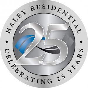 Haley Residential Anniversary Logo