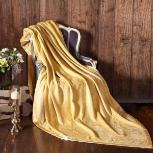 100% Silk Blanket (Yellow)