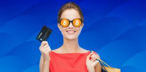 a woman who wants to convert bitcoin to cash