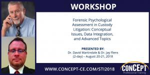 Forensic Psychological Assessment in Custody Litigation: Conceptual Issues, Data Integration, and Advanced Topics