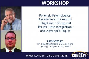 Workshop Advanced Child Custody Evaluation