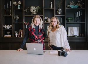 Cristin Goss and Julie Plake McMinn, collaborative project The Solid Brand Sessions