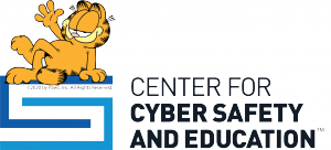 Center for Cyber Safety and Education logo with Garfield